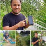 ระบบน้ำอัตโนมัติในสวน